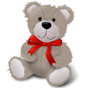 Redribbon, Teddybear Icon
