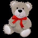 Redribbon, Teddybear Icon