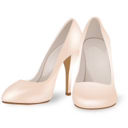Clothes, Wedding, Womenshoes Icon
