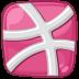 Dribbble, Hdpi Icon