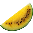 Watermelon, Yellow Icon