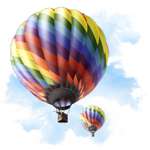 Baloon, Travel Icon