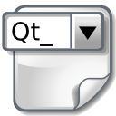 Document, Widget Icon