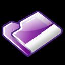 Folder, Violet Icon
