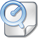 Apple, File, Quicktime Icon