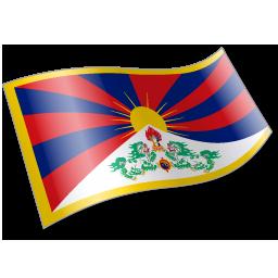 Flag, Tibetanpeople Icon