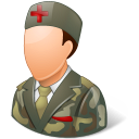 Armynurse, Light, Male Icon