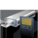 Card, Cardreader, Usbflashcard Icon