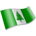 Flag, Nf, Nfk, Norfolkisland Icon