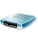 Blue, Modem Icon