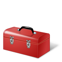 Red, Toolbox Icon