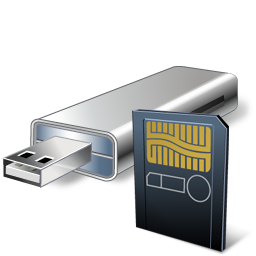 Card, Cardreader, Usbflashcard Icon