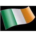 Flag, Ie, Ireland, Irl Icon