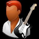 Dark, Guitarist, Male Icon