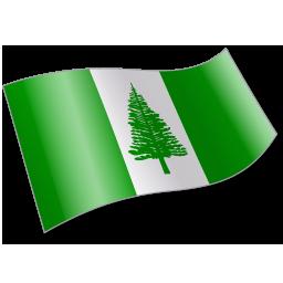 Flag, Nf, Nfk, Norfolkisland Icon
