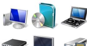 Vista Hardware Devices Icons