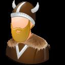 Male, Viking Icon