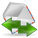 Mail, Receive, Send, Stock Icon
