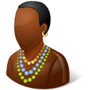 African, Male Icon