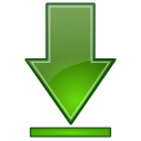 Bottom, Go Icon