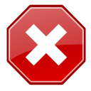 Cancel, Gtk Icon