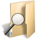 Folder, Saved, Search Icon