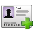 Bcard, New, Stock Icon