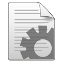 Csharp, Gnome, Mime, Text, x Icon
