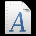 Afm, Application, Font, Gnome, Mime, x Icon