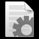 Application, Gnome, Mime, Shellscript, x Icon