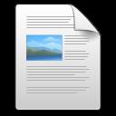 Application, Gnome, Mime, Rtf Icon