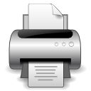 Document, Print Icon