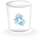 Alt, Empty, Trashcan Icon