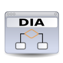 Dia, Gnome, Icon Icon