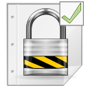 Application, Encrypted, Gnome, Mime, Pgp Icon