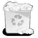 Directory, Full, Trash, x Icon