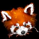 Firefox, Panda, Roux Icon
