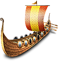 Ship, Viking Icon