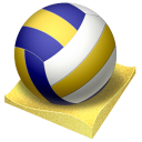Beach, Px, Volley Icon