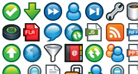 Plastic Mini Icons