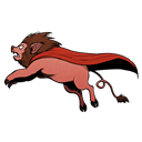 Png, Superlionpig Icon