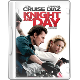 Case, Dvd, Knightandday Icon