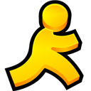 Aol, Instant, Messenger Icon