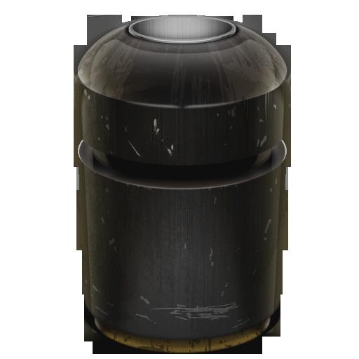 Can, Empty, Trash Icon
