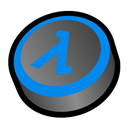 Blue, Half, Life, Shift Icon