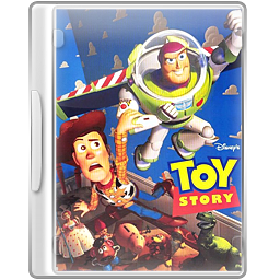 Case, Dvd, Toystory Icon