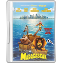 Case, Dvd, Madagascar Icon