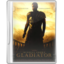 Case, Dvd, Gladiator Icon