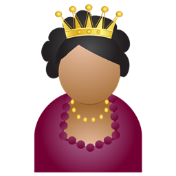 Crown Miss Icon Download Free Icons