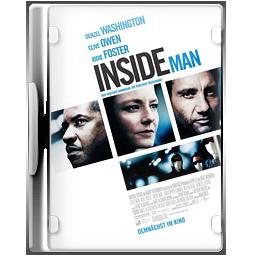Case, Dvd, Insideman Icon